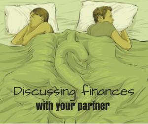 Discussing finances